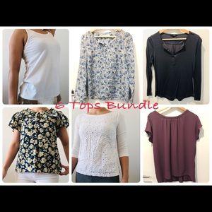 6 tops bundle